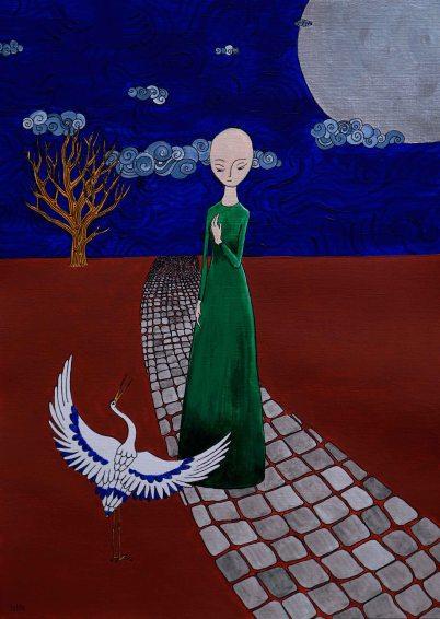 Het Meisje en de Kraanvogel
